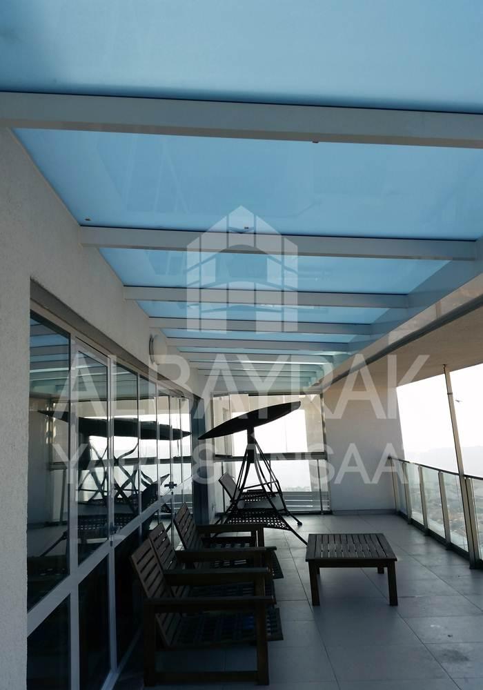 skylight cati 1 - Teras Üstü Cam Çatı