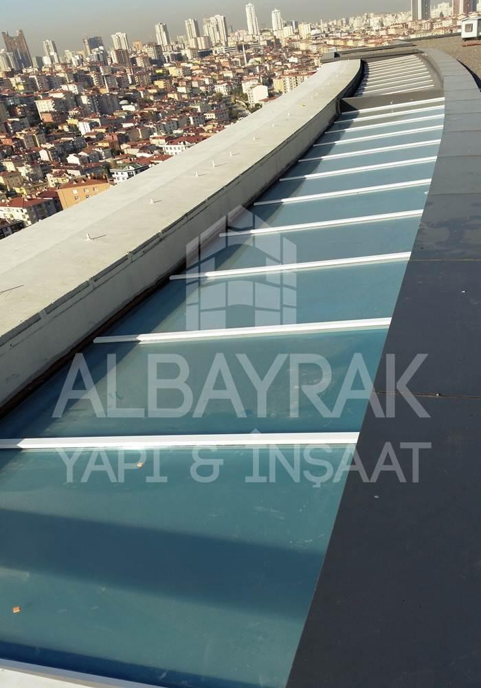 skylight cati 2 - Teras Üstü Cam Çatı