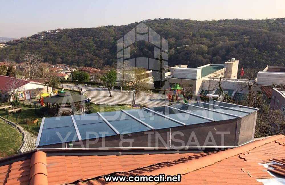 sabit cam cati sistemleri 3 - Sabit Cam Çatı Sistemleri