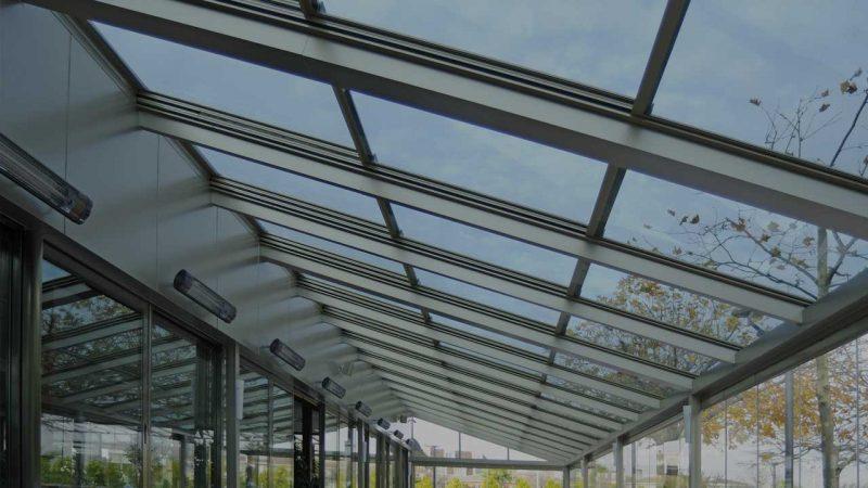 Hareketli Şeffaf Cam Çatı Sistemleri
